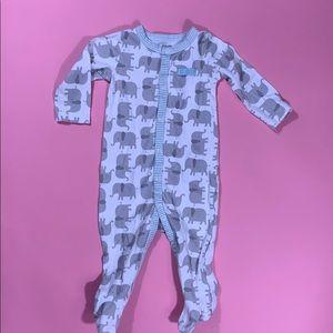 So Loved Carter's Footsie Pajamas Elephant